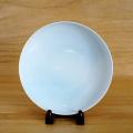 【和食器通販 金照堂】奥川俊右衛門作   青白磁富士山 菓子器(丸) 皿立付