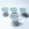 【和食器通販 金照堂】中善窯 スープカップ(4柄)