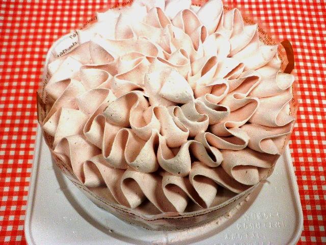 苺クリームホールケーキ (卵、乳、小麦アレルギー対応)