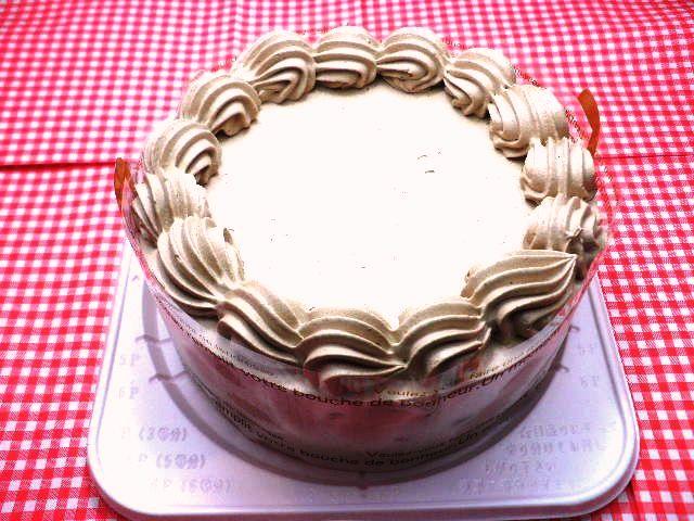 アレルギー対応ケーキチョコクリームホールケーキ