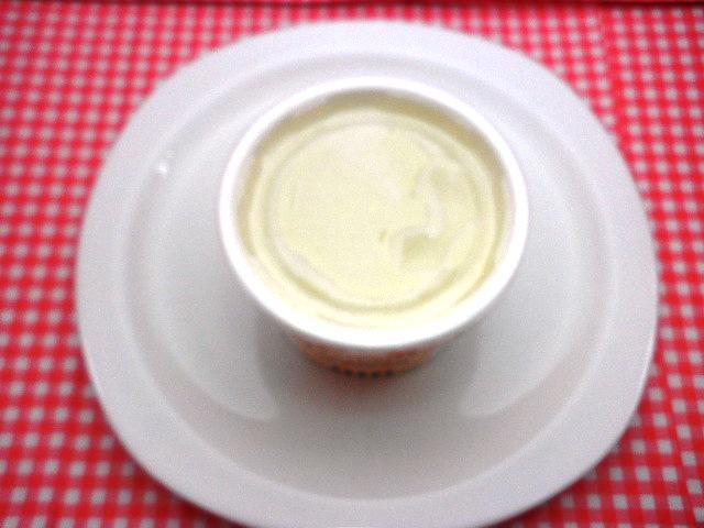 アレルギー対応ケーキアイスクリームバニラ