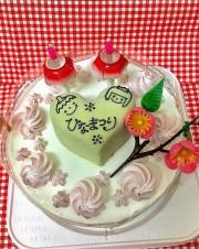 2017ひな祭り限定クリーム ホールケーキ
