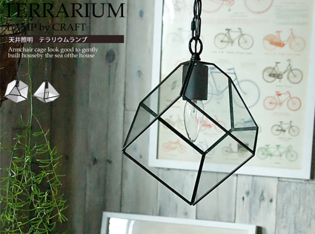 天井照明 LAMP by CRAFT TERRARIUM