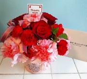 極上かにギフト券 &フラワ−(季節の生花)セット15,000円コ−ス【2017 冬のお祝いギフト推奨商品】