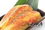 北海道秋の「極上天然秋鮭の西京漬け」市場直送切り身セット【2015お祝いギフト推奨商品】