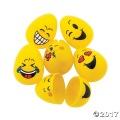 [予約販売]プラスチック イースターエッグ 【Emoji 小 48個セット】