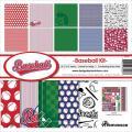 �ڥ�����åץ֥å��� �ڡ������å� 12�������12x12 reminisce - baseball collection kit����� BSB-200��