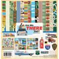 【スクラップブッキング ページキット 12インチ】12x12 carta bella paper -are we there yet? collection kit(アーウィー ゼア イェット コレクションキット)