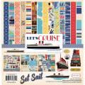 【スクラップブッキング ページキット 12インチ】12x12 carta bella paper - let's cruise collection kit(レッツクルーズ コレクションキット)