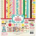 【スクラップブッキング ページキット 12インチ】12x12 echo park paper - happiness is homemade collection kit(ハピネスイズホームメイド コレクションキット)