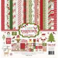 【スクラップブッキング ページキット 12インチ】12x12 echo park paper - I love christmas collection kit(アイラブクリスマス コレクションキット)