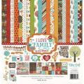 【スクラップブッキング ページキット 12インチ】12x12 echo park paper - I love family collection kit(アイラブファミリー コレクションキット)