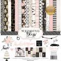 【スクラップブッキング ページキット 12インチ】12x12 echo park paper - wedding bliss collection kit(ウェディングブリス コレクションキット)