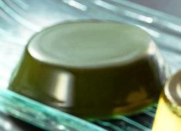 緑茶ゼリー 【お試し】 バラ3個