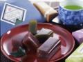 一口羊羹と宇治茶 敬老の日デザイン