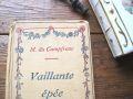 フランスアンティーク 古書Vaillante epee Tours