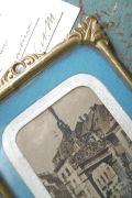 フランスアンティーク フォトフレーム 真鍮