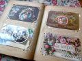 フランスアンティーク アールヌーボーポストカード156枚 & アルバム