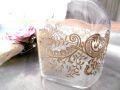 フランスアンティーク ナポレオン3世金彩の香水ボトル