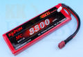 リポバッテリー KYPOM K6 7.4V 3300mA 35C-70C