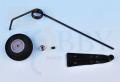 コイルスプリング尾輪セット(2mmロッド)