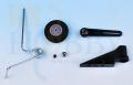 ガイド付コイルスプリング尾輪セット(2mmロッド)