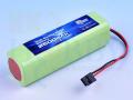 【急速充電対応】 KKHOBBY プロポ用NiMH(ニッケル水素) 9.6V 2500mA(フタバ用)
