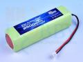 【急速充電対応】 KKHOBBY プロポ用NiMH(ニッケル水素) 9.6V 2500mA(JR用)