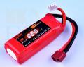 【70x26.5x20mm】 リポバッテリー KYPOM K6 11.1V 850mA 35C-70C