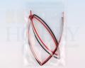 シュリンクチューブ 1.5mm(赤、黒 各50cm)