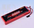 受信機用LiFeバッテリー KKHOBBY 6.6V 3800mA