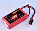 受信機用LiFeバッテリー KKHOBBY 6.6V 850mA