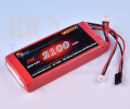 【平型】プロポ用LiFeバッテリー KKHOBBY 9.9V 2100mA