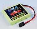 【平型】【急速充電対応】 KYPOM 受信機用NiMH(ニッケル水素) 4.8V 600mA