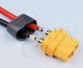 プロテクトキャップ付きXT60コネクター(メス)
