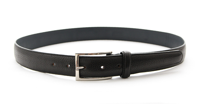 attire ITALIAN VACCHETA LEATHER BELT