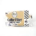 101無漂白コーヒーフィルター(40枚入)