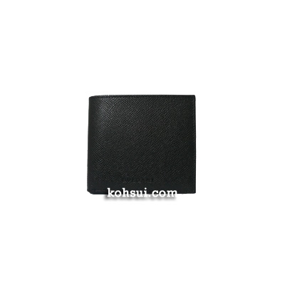 ブルガリ BVLGARI 二つ折り財布(小銭入れ付き) EX20253 BLACK