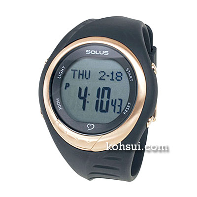 SOLUS team sports 300 01-300-01 ブラック [腕時計]