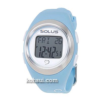 SOLUS Leisure 800 01-800-03ライトブルーxバタフライ [腕時計]