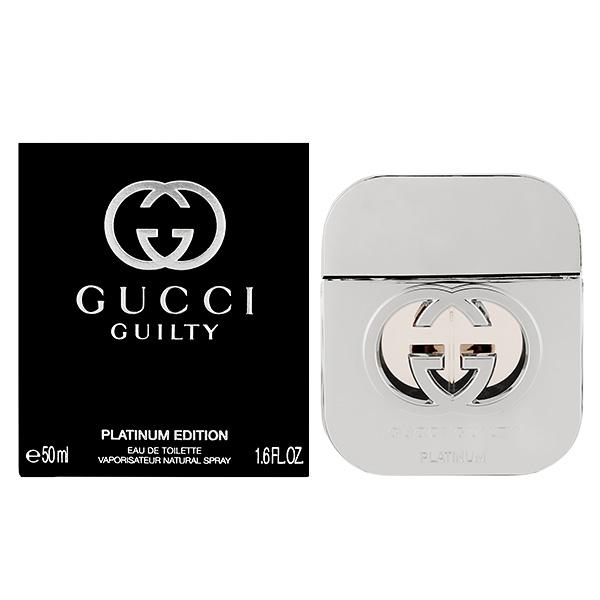 グッチ ギルティ プラチナエディション EDT SP 50ml 香水