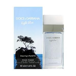 ドルチェ&ガッバーナ DOLCE&GABBANA 香水 D&G ライトブルー ドリーミング イン ポルトフィーノ オードトワレ スプレー EDT SP 50ml