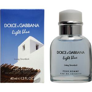 ドルチェ&ガッバーナ DOLCE&GABBANA 香水 D&G ライトブルー リヴィング ストロンボリ プールオム  EDT SP 40ml