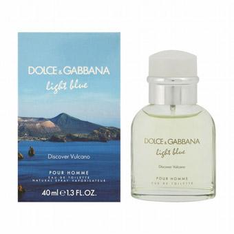 ドルチェ&ガッバーナ D&G DOLCE&GABBANA ライトブルー ディスカバー ヴルカーノ オードトワレ スプレー EDT SP 40ml