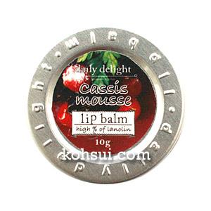 デイリーディライト daily delight リップバーム カシスムース 10g