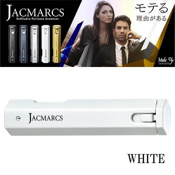 【送料無料】 ジャックマルクス JACMARCS リフィラブル パフューム アトマイザー ヘキサゴナルシェイプ ホワイト 3.7ml
