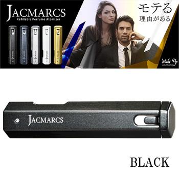 【送料無料】 ジャックマルクス JACMARCS リフィラブル パフューム アトマイザー ヘキサゴナルシェイプ ブラック 3.7ml