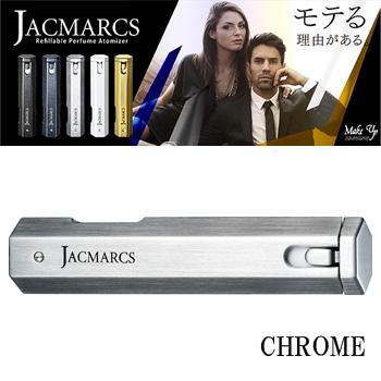 【送料無料】 ジャックマルクス JACMARCS リフィラブル パフューム アトマイザー ヘキサゴナルシェイプ クローム 3.7ml