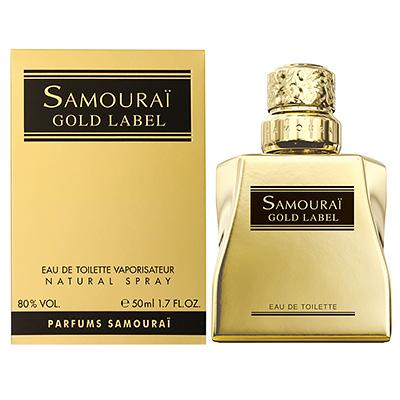サムライ SAMOURAI  ゴールドレーベル EDT SP 50ml 香水【メンズ】【香水】【ワックスプレゼント】