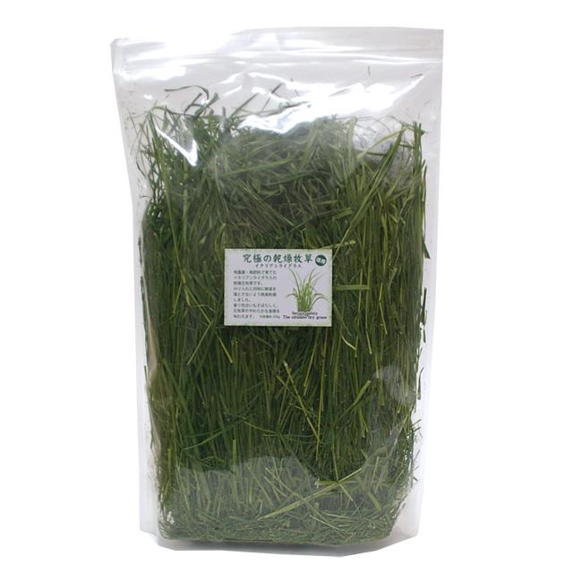 究極の乾燥牧草 イタリアンライグラス 徳用250g